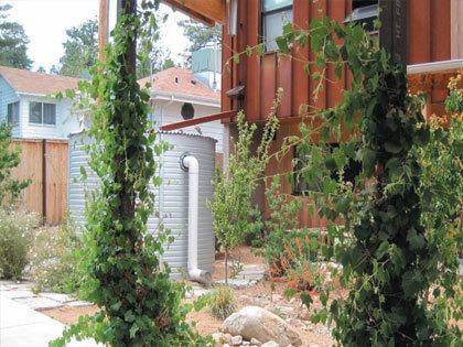Rain water harvesting tank
