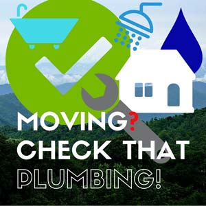 Moving Plumbing Checklist