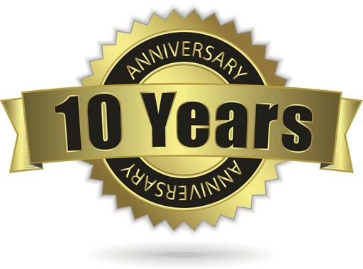 10th Anniversary plumbing business